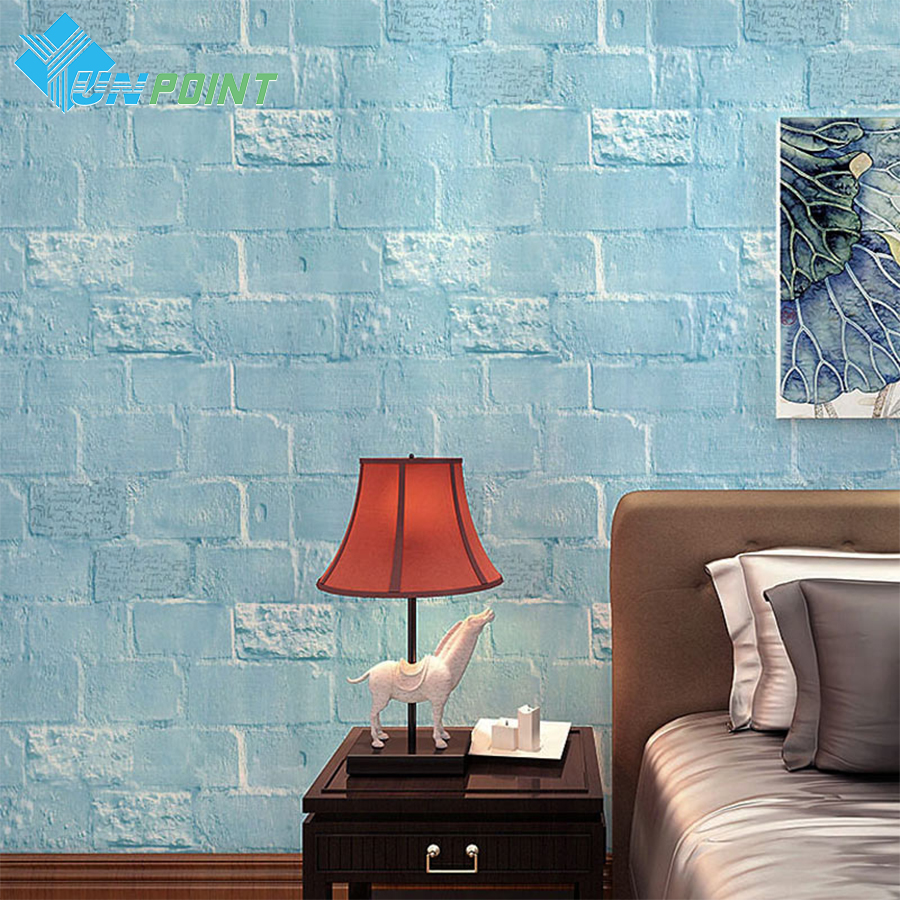 Kərpic özünə yapışan divar kağızı Yaradıcı İngilis - Ev dekoru - Fotoqrafiya 5