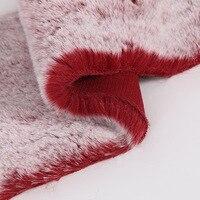Spot wholesale loaded dead rabbit hair ball jewelry scarf cloth 25mm hair tip pull white imitation rabbit hair