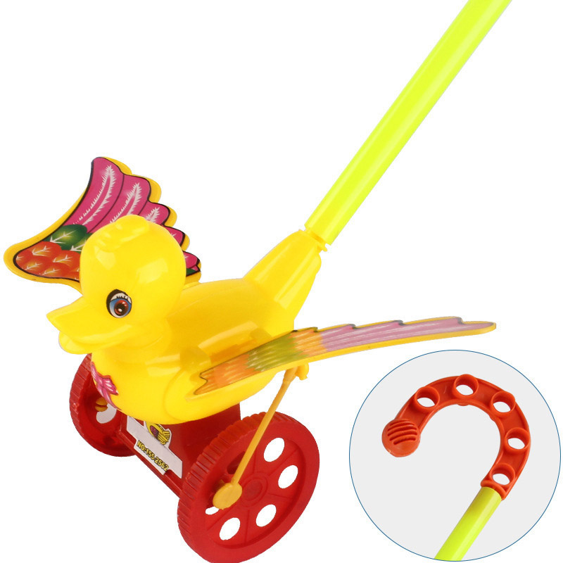 Cartoon Infant Baby Toddler Trolley Toy Bouncer Car Animal Push & Pull Toys S7JN