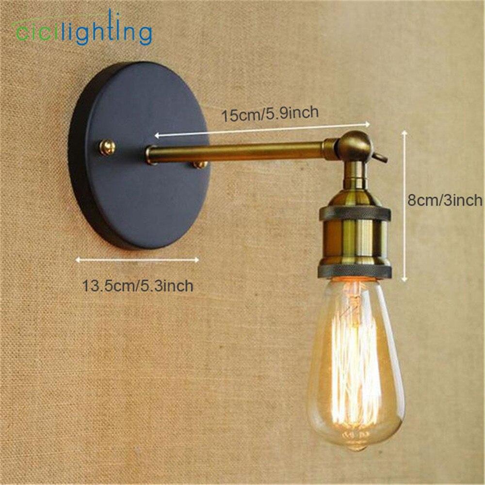 Novelty Minimalist Black Rustic Bronze color lamp lights art design ...