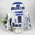 Anime Star Wars R2D2 Plush Wholesales Toys Printing stuffed toy robot plush dolls European and American Movie Toy 35cm for kids