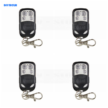DIYSECUR 4pcs Wireless 433Mhz Keyfobs Remote Control for Our Related Home Alarm Home Security System