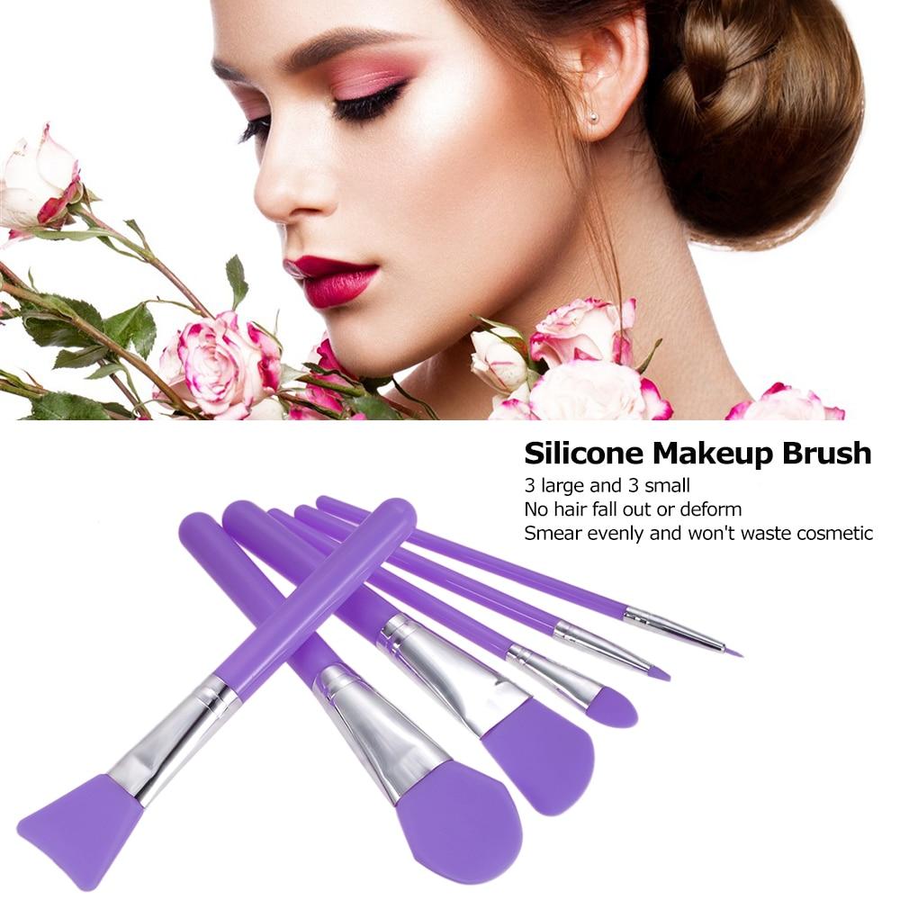 Tesoura de Maquiagem 6 pcs pincéis de maquiagem Usado Com : Kits e Conjuntos