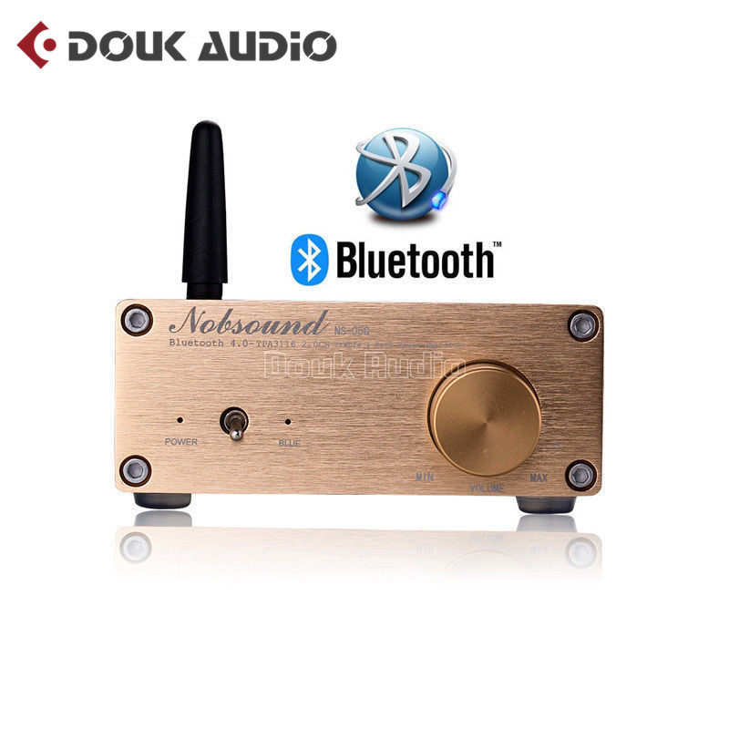 2018 New Nobsound 100 Watts Bluetooth 4.0 Mini HiFi TPA3116 Power Amplifier Digital Audio Stereo Amp 2017 new nobsound hifi 100w mini tpa3116 bluetooth 4 0 digital amplifier amp power supply free shipping