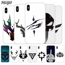 Fundas Silicone Phone Back Case For Apple iPhone 6 6S 7 8 Plus X 10 XS MAX XR 5 5S SE Heart Cover Sketches