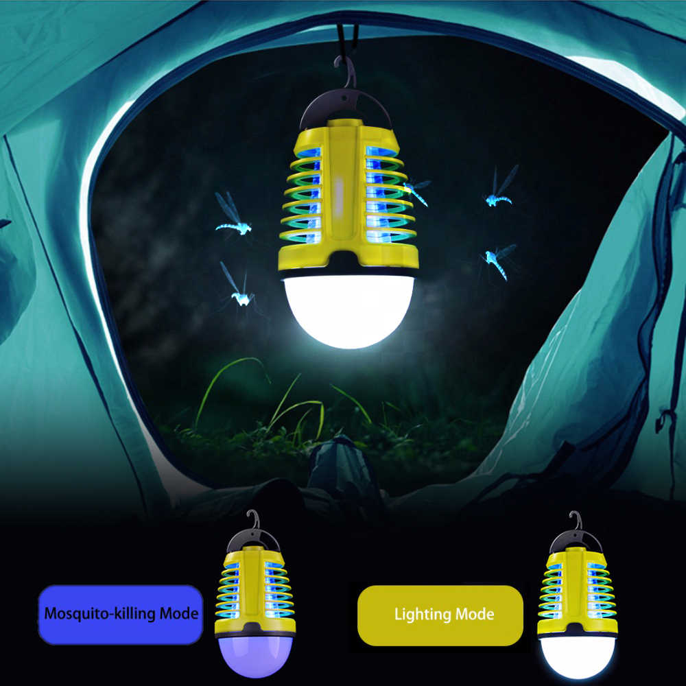 Dewel USB Mosquito Killer Lamp Dual-purpose Light Mosquito Repellent  for Camping  Anti Mosquito Outdoor and Indoor Lamp