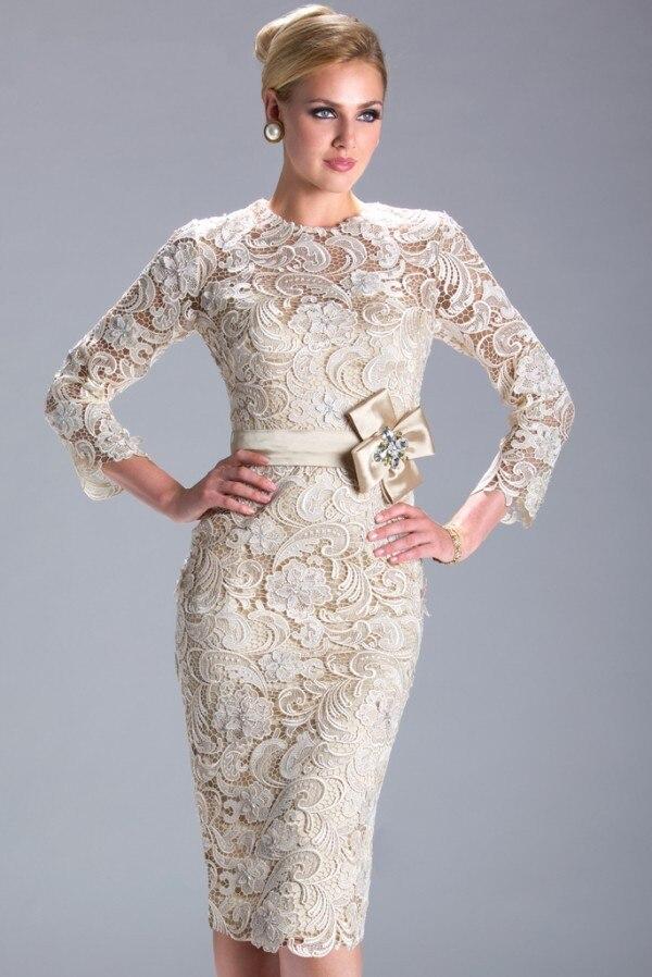 Livraison gratuite janique robes trois quarts manches dentelle mère de la mariée robe grande taille vestido mae da noiva