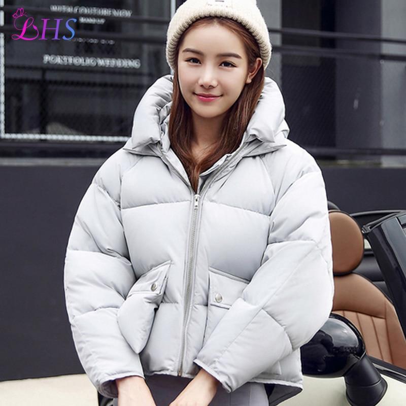 Plus Size New Style 2016 Winter jacket Women Down Coat Parka Short Punk Rock Coats Warm