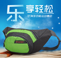 More Color Waterproof Nylon Utility Fanny Pack Waist Bags Bicycle Riding Belt Bags Bum Money Pouch Cell Phone Bag For  Men Women
