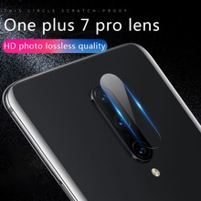 NEW For one plus 6T/7 Pro Camera Lens Protector Tempered Glass Camera Lens Film Camera Lens Metal Ring Case Cover Bumper