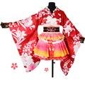 Любовь живая Маки косплей костюм lovelive платье взрослых Печатных Кимоно для женщин Хэллоуин Карнавал Партия платья