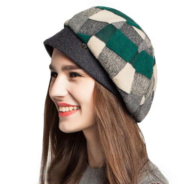 FS Winter Wool Felt Plaid...