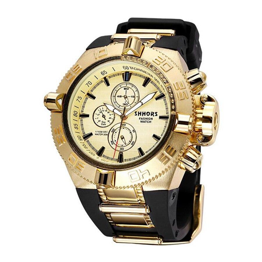 2017 Shhors Luxury Men Watch Fashion Quartz Watch Waterproof Watches Relojes Hombre horloges mannen fashion ananke men luxury brand watches casual quartz waterproof wristwatches mens horloges mannen relojes hombre 2017 clock men