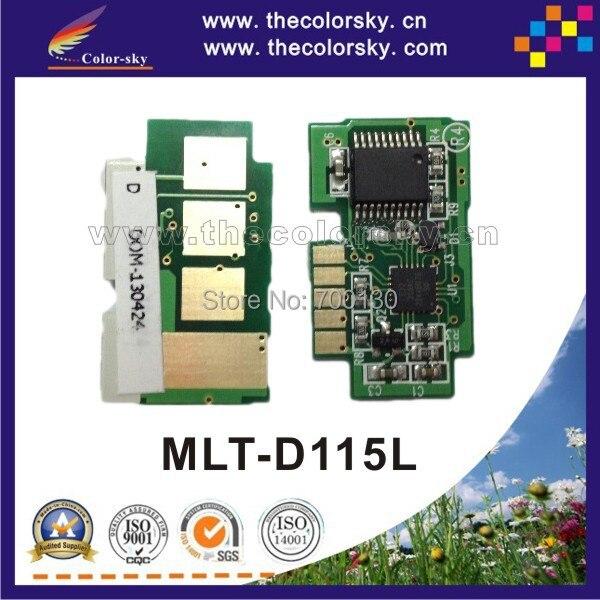 (TY-S115) toner cartridge reset chip for samsung MLT-D115L MLT-D115 MLT-115L MLT-115 MLT D115L D115 115L 115 bk 3k pages freedhl