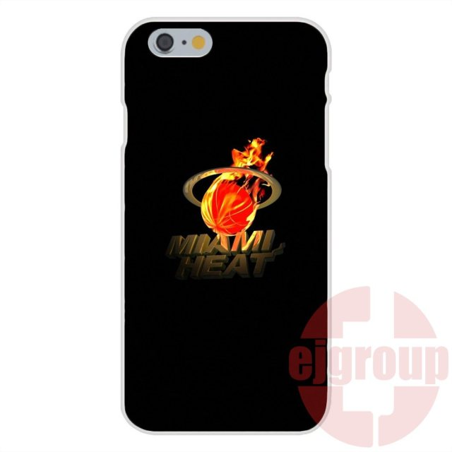 Miami Heats Custom Smart For Apple iPhone 4 4S 5 5C SE 6 6S 7 7S Plus 4.7 5.5 Soft TPU Silicon Fashion Cell Phone Case