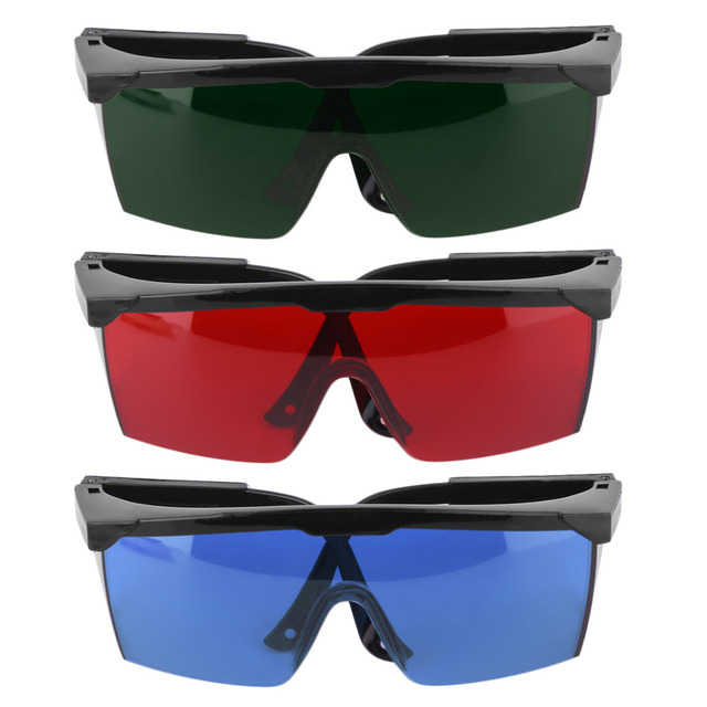 525c0e633c09 1Pcs Protection Goggles Laser Safety Glasses Green Blue Red Eye Spectacles  Protective Eyewear Green Color Laser Protection
