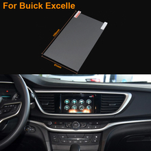 Car Styling 7 Inch GPS Navigation Screen Steel Protective Film For Buick Excelle Control of LCD Screen Car Sticker