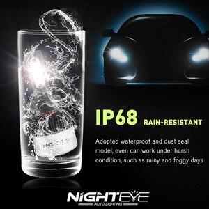 Image 5 - NIGHTEYE süper parlak araba farlar H7 LED H4 led H1 H8 H11 HB3 9005 HB4 9006 oto ampul 72W 9000LM otomobiller far 6500K