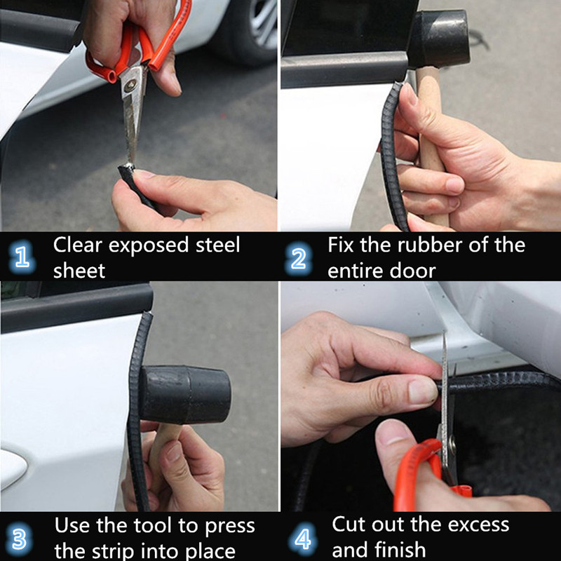 Universal 10M Car Door Edge Scratch Protector Strip Sealing Guard Trim Automobile Door Stickers Decoration Protector Car-styling 3_800_800