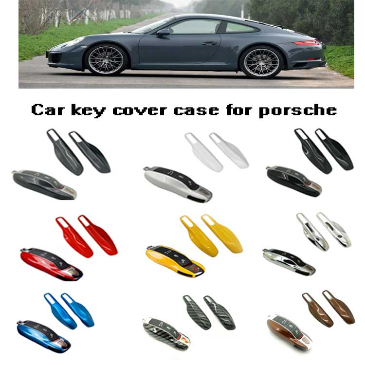 Smart Protectors Keyless Remote Key Cases Shell Car Key Case Platic Cover Case Cover Side Blades for Porsche Cayenne