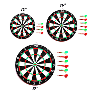 Image 4 - Zestaw 6 rzutek i rzutek 12/15/17 Cal rodzina/biuro gra tarcza do ćwiczeń sportowych gra w rzutki