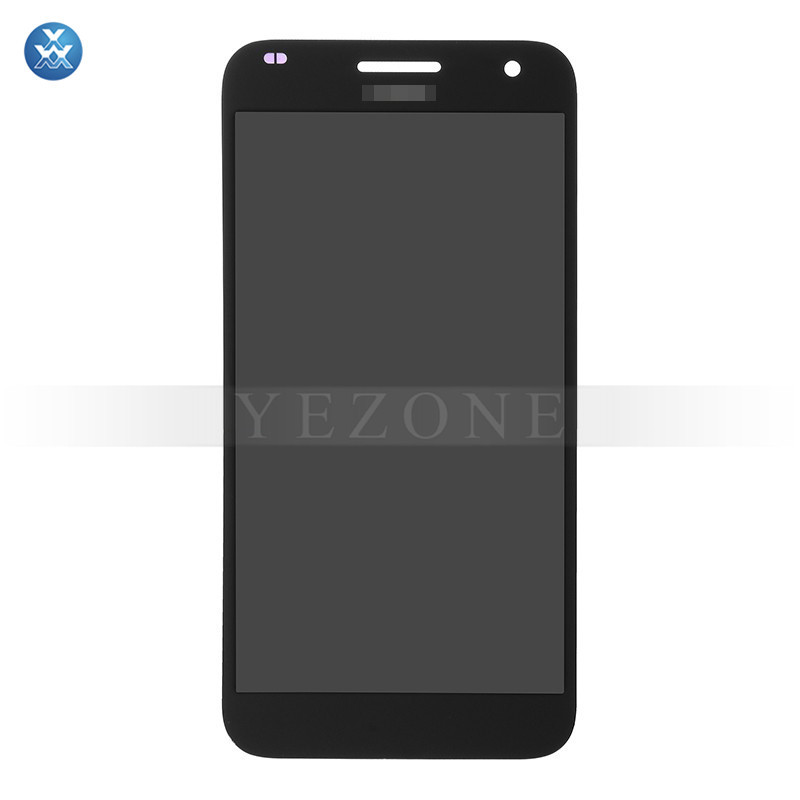 For Huawei Ascend G7 LCD Screen and Digitizer Assembly Replacement - Black- Huawei Logo - Grade S+1