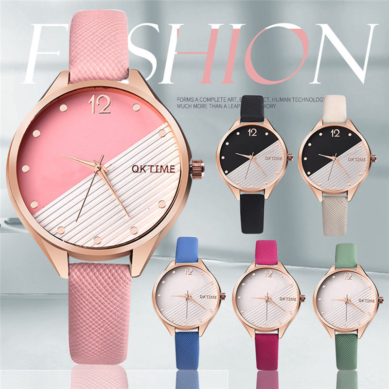 Ultra Thin Belt Band Women's Women Watches Luxury Casual Quartz Watch 5