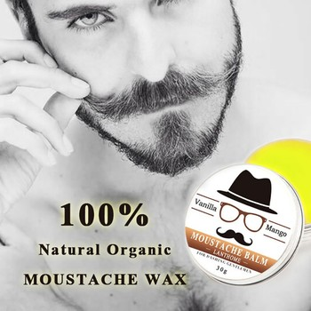 Natural Beard Wax Balm Beard Oil Men Shape Beard Grooming Beard products Healthy Conditioner Moisturizing Cream Makeup