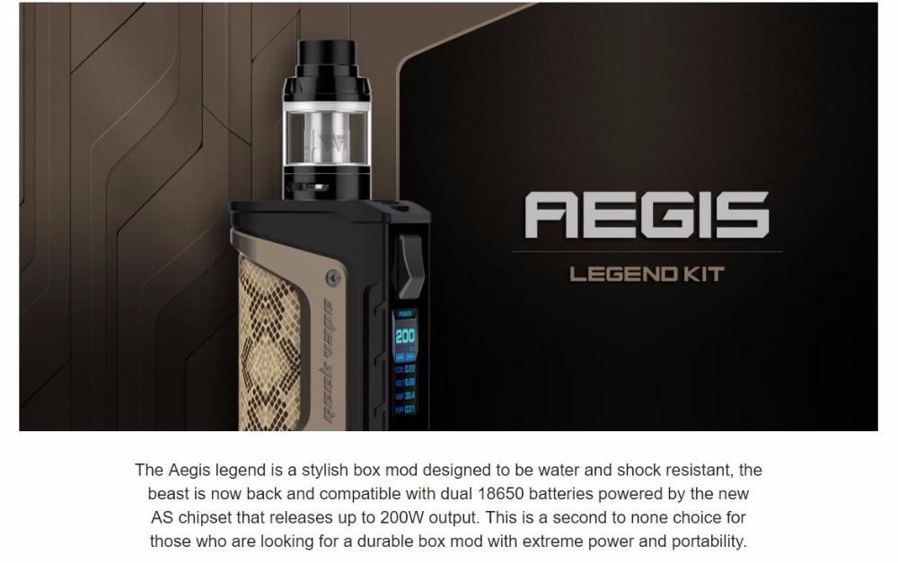 200W Geekvape Aegis Legend