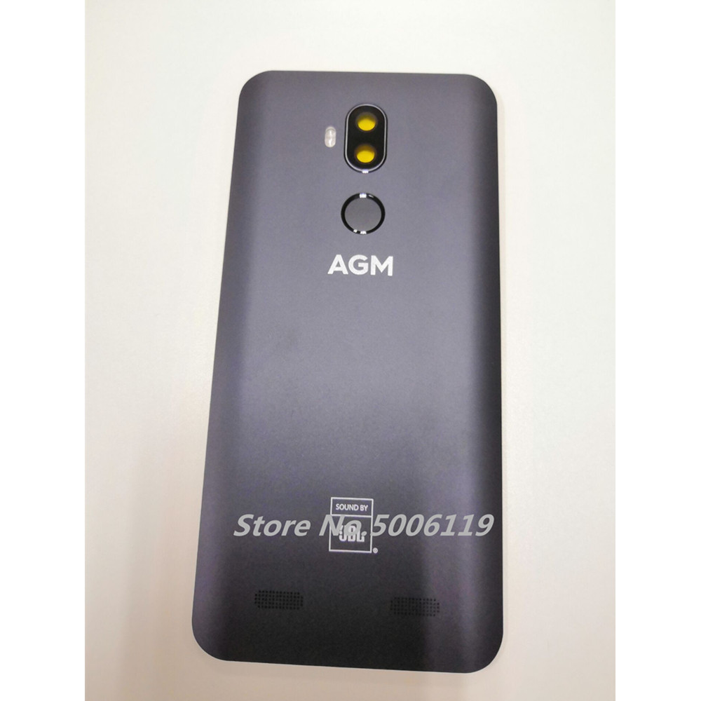 Cover Dock-Case Camera-Lens Housings Cell-Phone-Back-Battery Fingerprint New for AGM