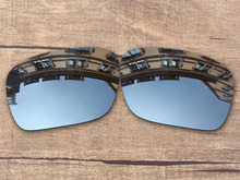 428ef2fa96c43 REPUESTO polarizadas del espejo de plata del cromo Objetivos para auténtico Holbrook  Gafas de sol protección 100% UVA y UVB