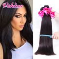 3PCS Peruvian Virgin Hair Straight 8A Unprocessed Human Hair V SHOW Hair Products Peruvian Virgin Straight Hair Bundles