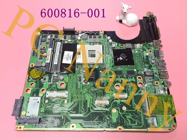 FOR HP DV6 Intel Laptop Motherboard s989 31UP6MB00Y0 DA0UP6MB6F0 Rev:F 600816-001