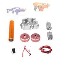 Worker Twill Metal Power Type Flywheel Set for Nerf N Strike Elite Stryfe Blaster N Strike Elite Rapidstrike CS 18 Blaster