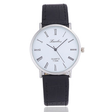 Stylish Simple Ultra-thin Male Watch Retro Female Watch Fashion Figures Men and Women General Quartz Watch Couple Watches