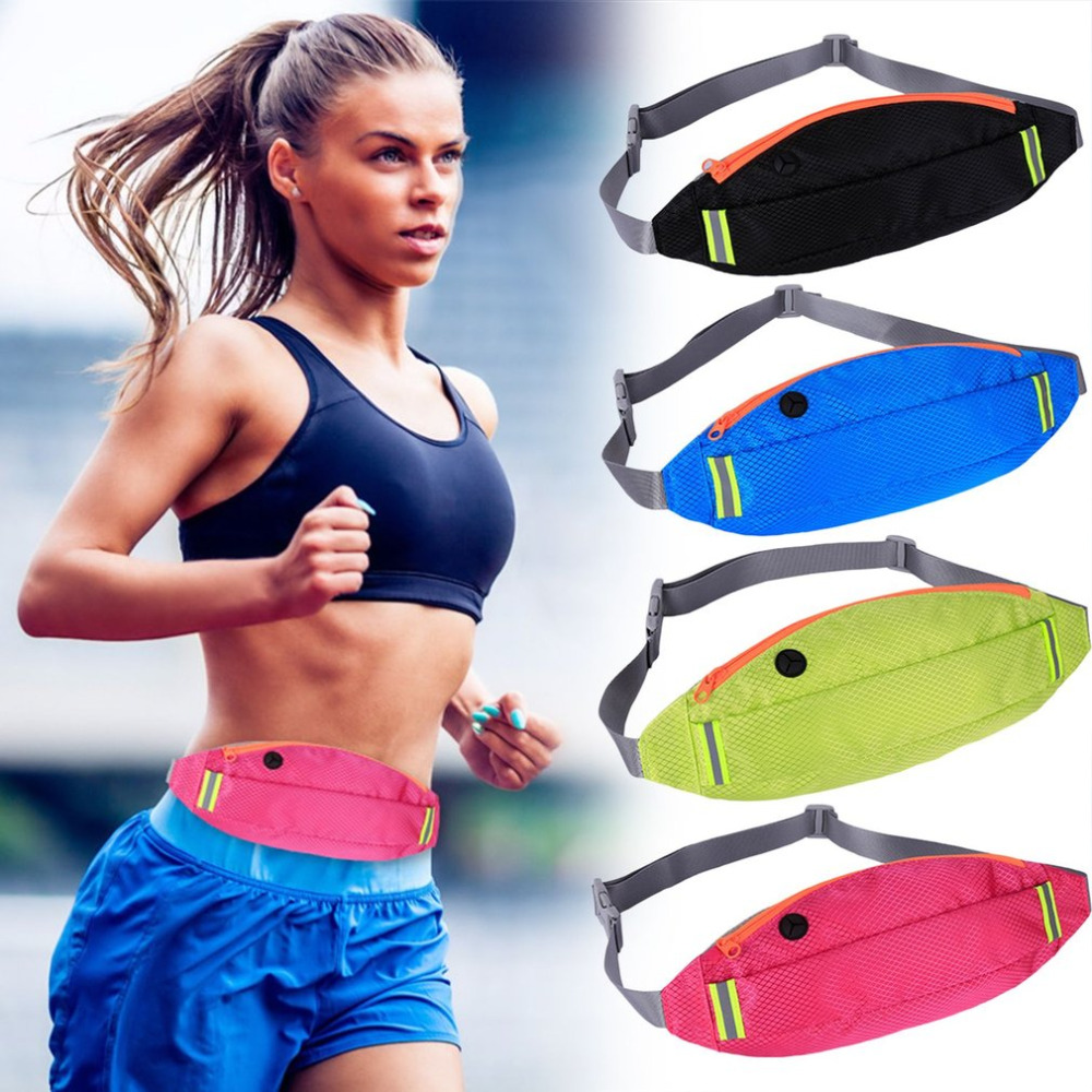 Outdoor Sports Waist Pack Multifunction Men Women Waist Bag Wallet Waterproof Running Fitness Bag for 4-6 inch Mobile Phone New