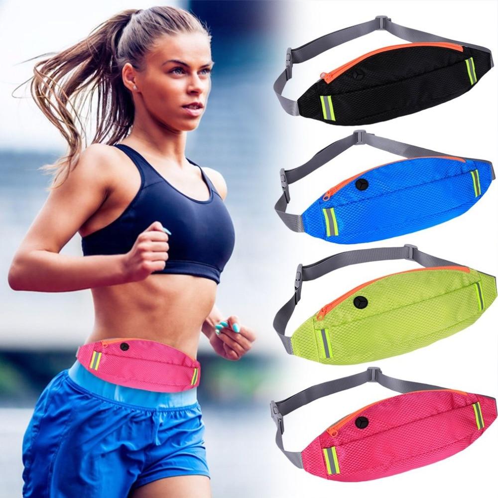 Outdoor Sports Waist Pack Multifunction Men Women Waist Bag Wallet Waterproof Running Fitness Bag for 4-6 inch Mobile Phone New