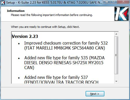 software 2.23