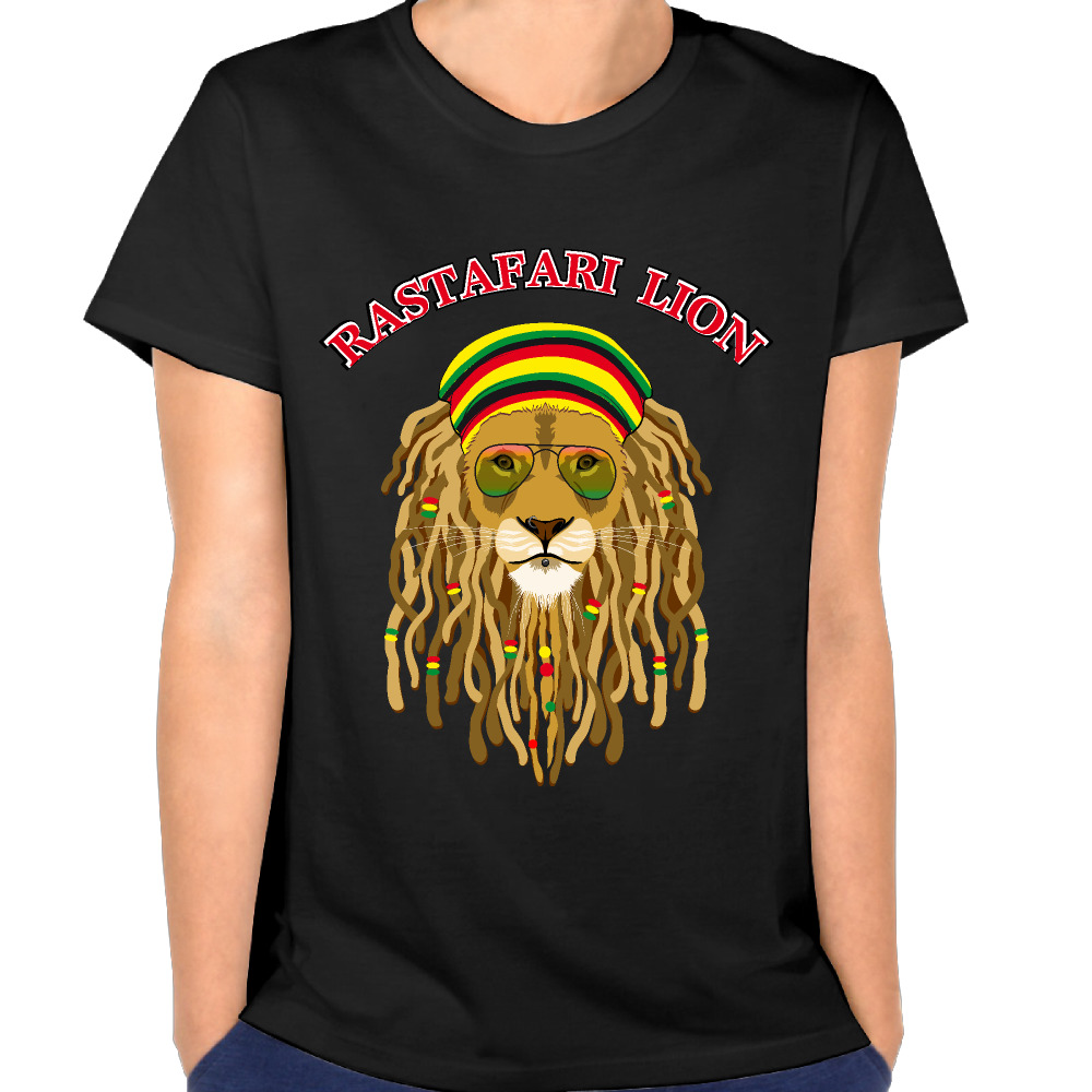 new arrival rastafari lion rasta lions shirt woman 39 s vogue. Black Bedroom Furniture Sets. Home Design Ideas