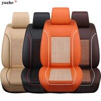 Yuzhe Brand leather Automobiles Universal Full Set Universal Car Seat Covers Seat Seat Cover for Toyota Corolla Kia accessories