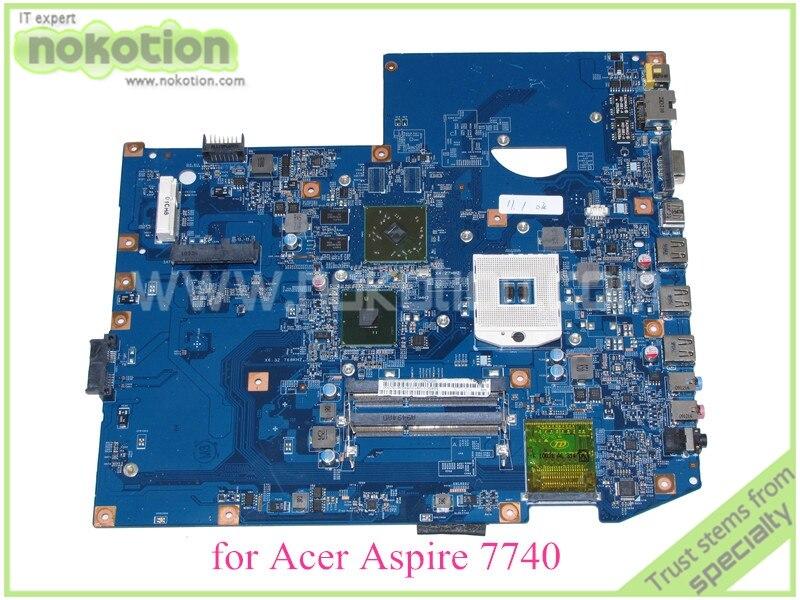 NOKOTION MB PNX01 001 JV70 CP MB 48 4GC01 011 MBPNX01001 For acer aspire 7740 7740G