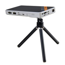 Pocket Projector Ultra-Thin 1080P HD Home Theater Mini Portable Wifi Smart DLP Projector with Tripod