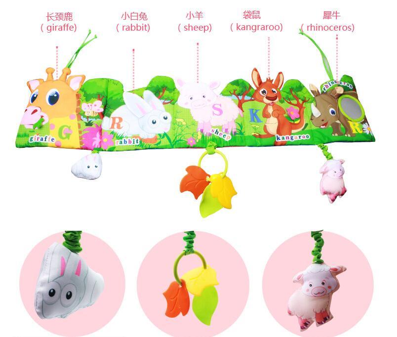 livro de pano com modelo animal brinquedos