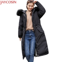 Women winter coat women Solid Thicker Winter Slim Warm Lammy Jacket Hair Collar shipping Coat Overcoat ST15