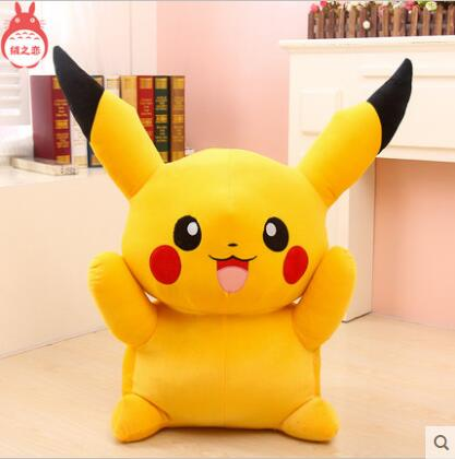 Big Size 55cm 22inch Pikachu Plush Toys High Quality Very Cute Plush Toys For Children's Gift 1pcs free shipping 23cm special offer pikachu plush toys high quality very cute plush toys for children s gift