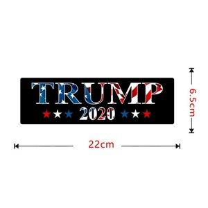 Image 2 - 10 Chiếc Trump Xe Ô Tô Trump 2020 Donald Trump Giữ Mỹ Đại Keo PVC Dán Cho Xe Hơi Tạo Kiểu Dán Trang Trí