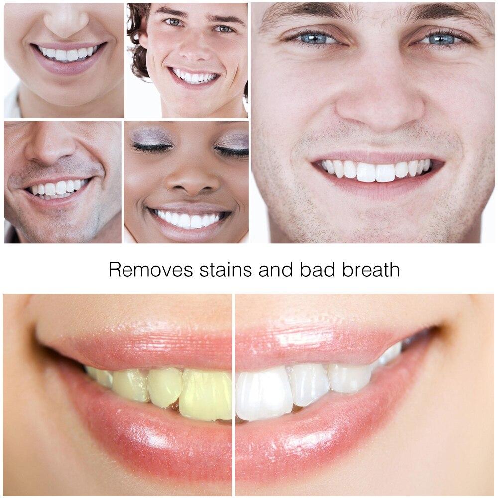 Clareamento Dos Dentes Higiene Oral Ativar Carvao De Bambu Creme