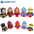 USB Flash Drive Cartoon captain america USB Flash Disk Gift Plastic Pen Drive Pendrive 4GB 8GB 16GB 32GB 64GB USB2.0