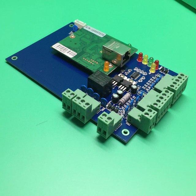 Tcp Software livre uma porta bidirecional Painel de Controle de Acesso Ao Controlador de Acesso Porta do cartão de Rfid