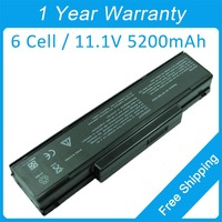 New 5200mah laptop battery BTY-M61 BTY-M66 for asus F3Jv S96J F3Jr F3M F3Ka A9000T F3U Z9400R 90NITLILD4SU1 90NITLILD4SU1